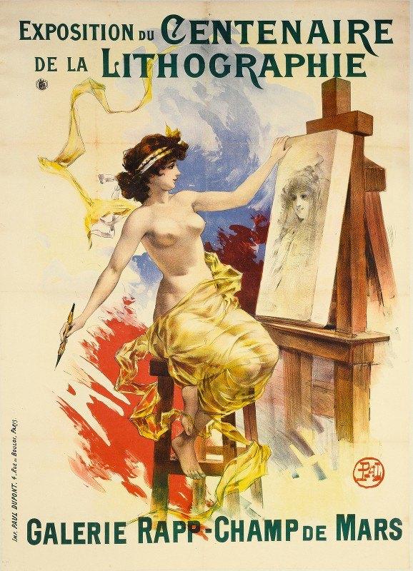 Jean de Paleologue - Exposition Du Centenaire, De La Lithographie Galerie Rapp- Champ De Mars
