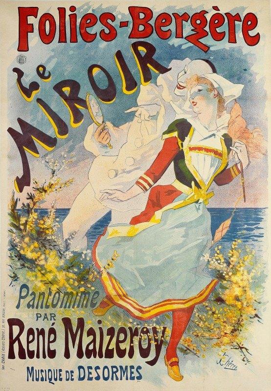 Jules Chéret - Folies-Bergère Le Miroir