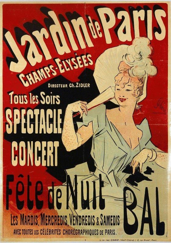 Jules Chéret - Tous Les Soirs Spectacle Concert