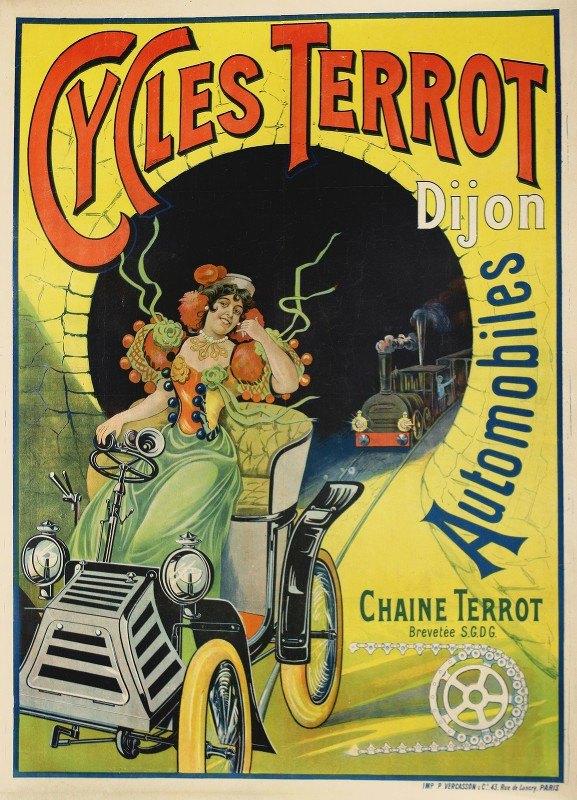Anonymous - Cycles Terrot Dijon Automobile