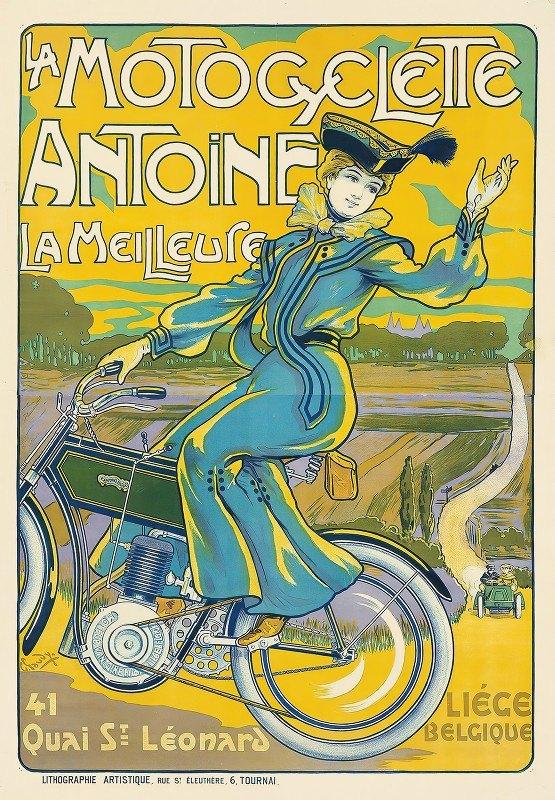 Georges Gaudy - La Motocyclette Antoine