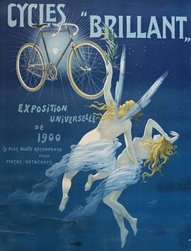 "Henri Boulanger Gray - Cycles'brillant"" Exposition Universelle De 1900'"