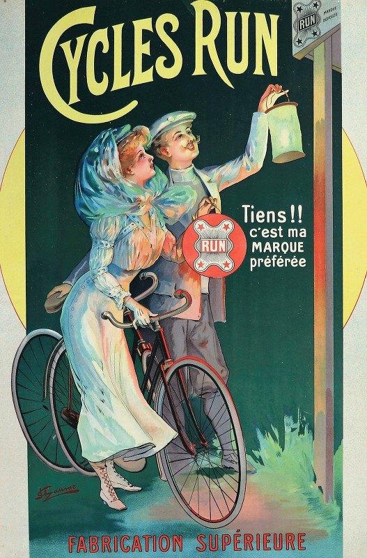 J. Chaume - Cycles Run Tiens !! C'Est Ma Marque Préférée'