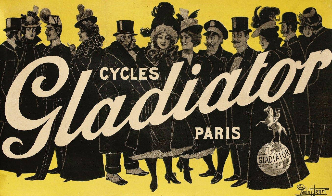 A. Shaw - Cycles Gladiator Paris