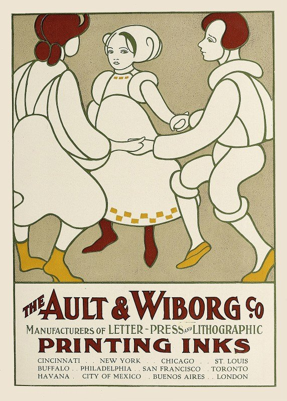 Anonymous - Ault and Wiborg, Ad. 075