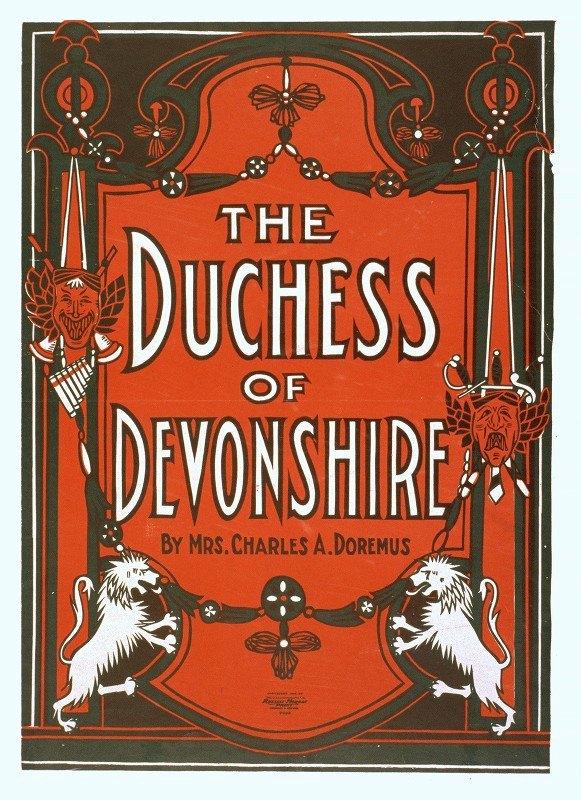 U.S. Lithograph Co. - The Duchess of Devonshire