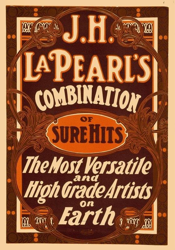 U.S. Printing Co. - J.H. La Pearl's combination of sure hits