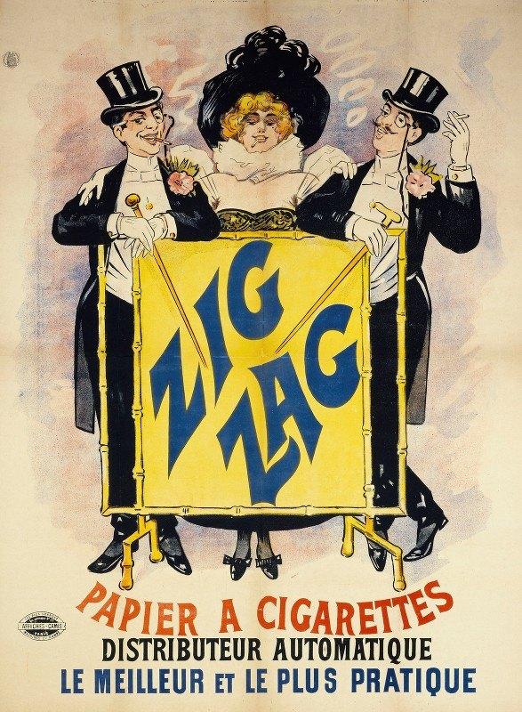 Anonymous - Zig Zag Papier A Cigarettes