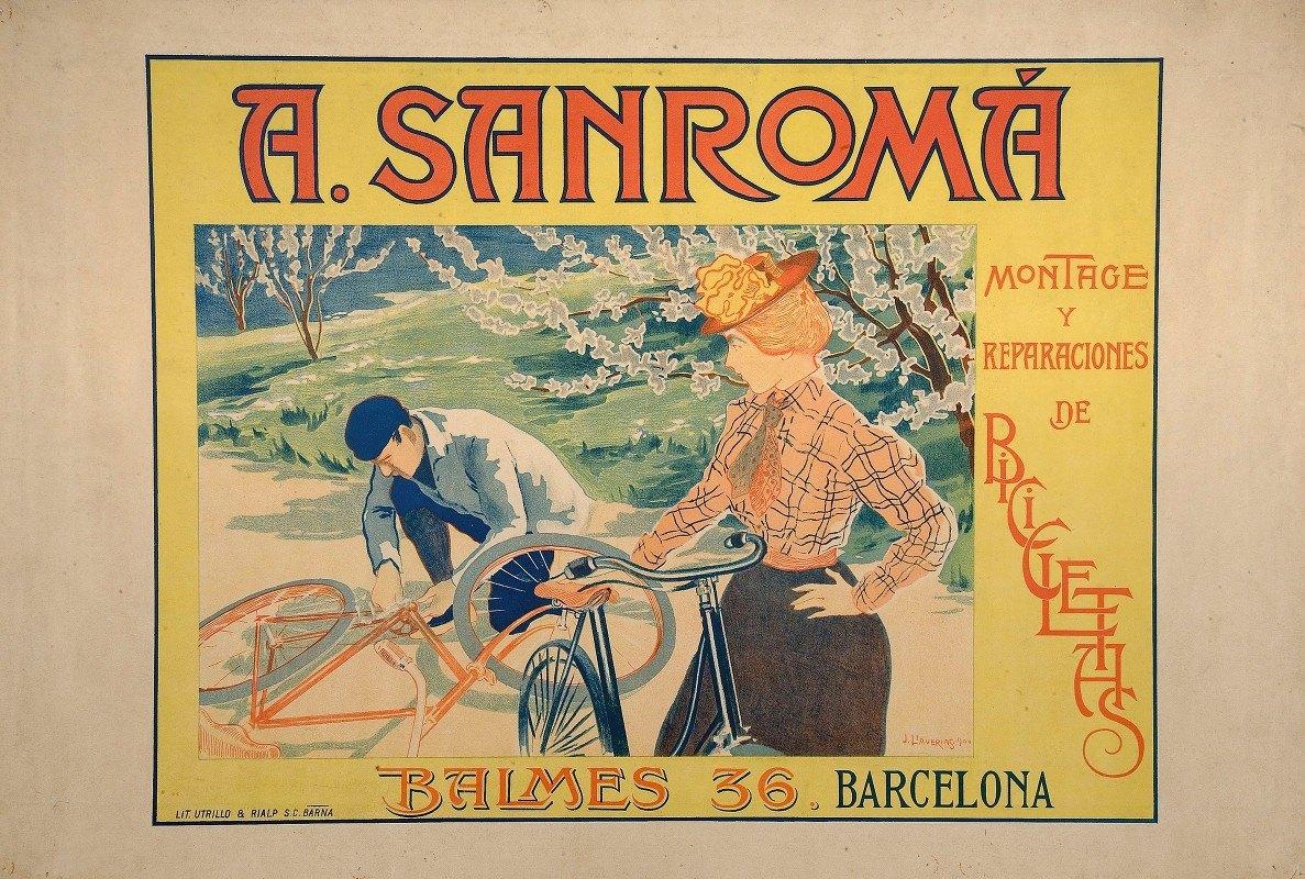 Joan Llaverias - A. Sanromá. Montage Y Reparaciones De Bicicletas