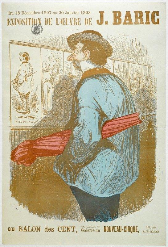 Jules-Jean-Antoine Baric - L'oeuvre De J. Baric Au Salon Des Cent  (Succursale B)