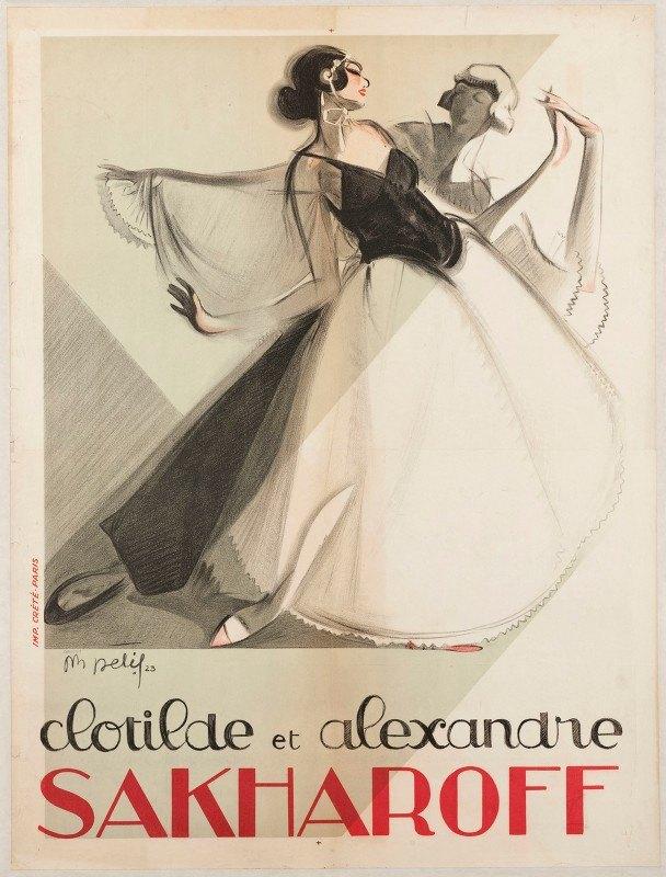 M Delif - Clotilde Et Alexandre Sakharoff