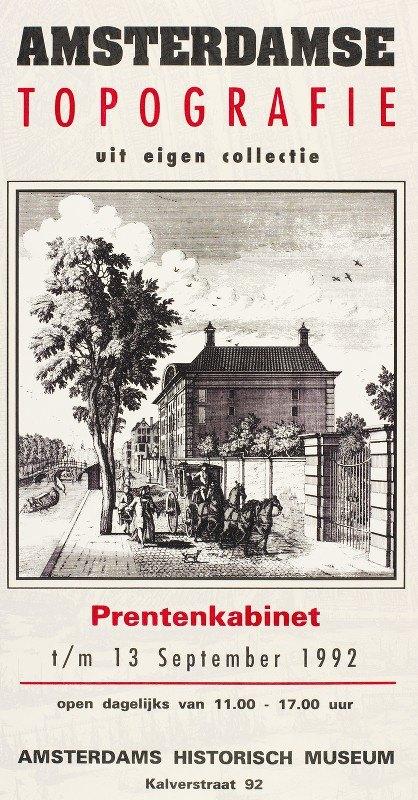 Edo Mulder - Amsterdamse topografie uit eigen collectie
