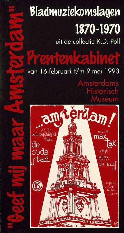 Edo Mulder - Geef mij maar Amsterdam