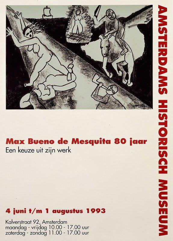 Edo Mulder - Max Bueno de Mesquita 80 jaar