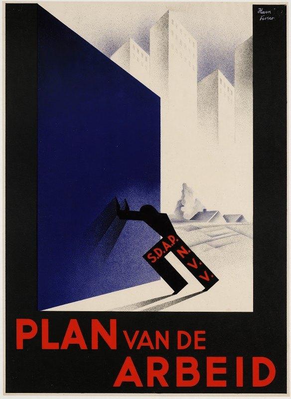 Herman Visser - Plan van de arbeid