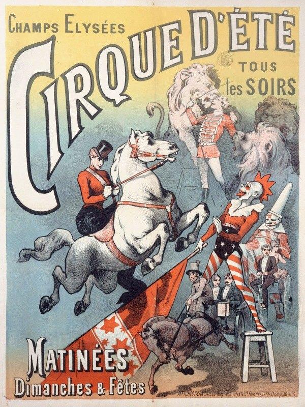 Anonymous - Champs-Elysees Cirque D'ete