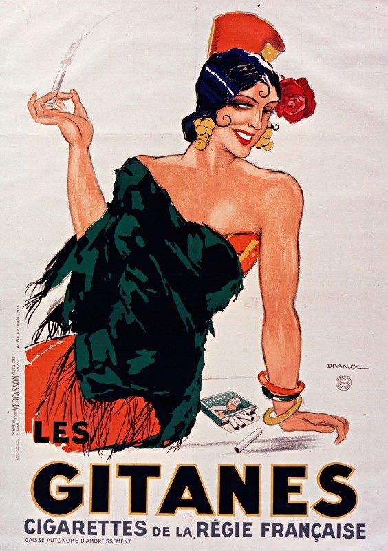 Dransy - Gitanes, cigarettes de la Régie française