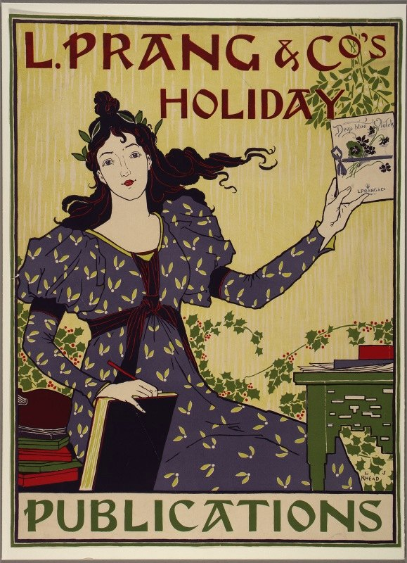 Louis Rhead - L. Prang and Co's Holiday Publications