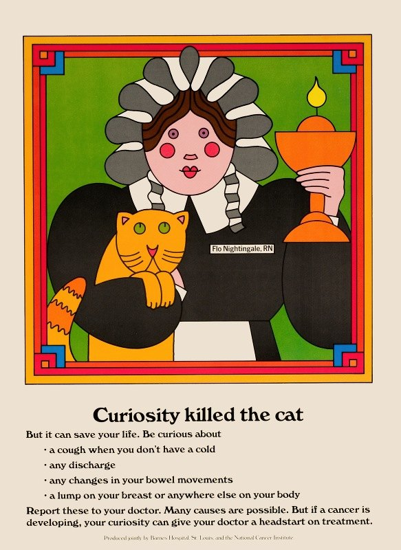 National Cancer Institute - Curiosity killed the cat