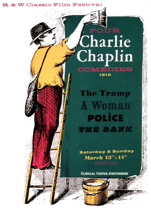 National Institutes of Health - Four Charlie Chaplin comedies