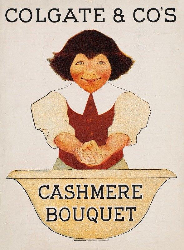 Maxfield Parrish - Colgate & Co's cashmere bouquet
