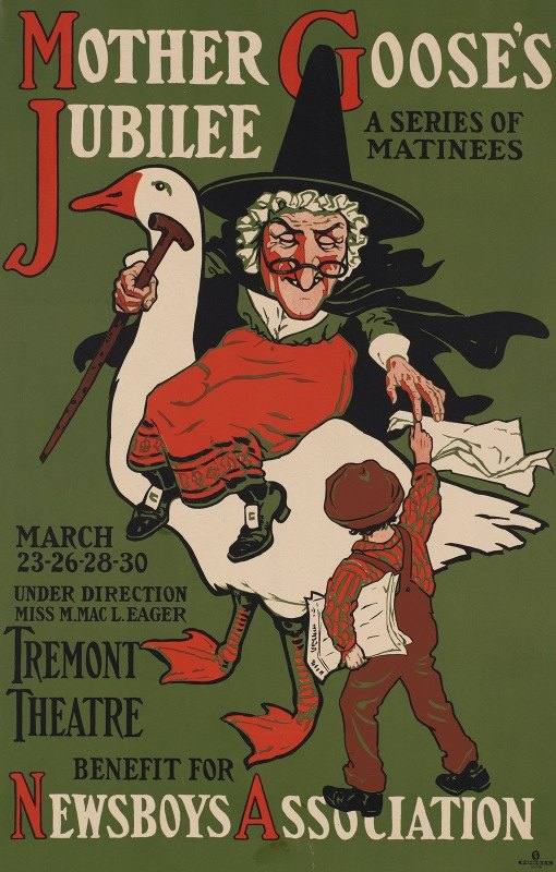 Anonymous - Mother Goose's jubilee, a series of matinees