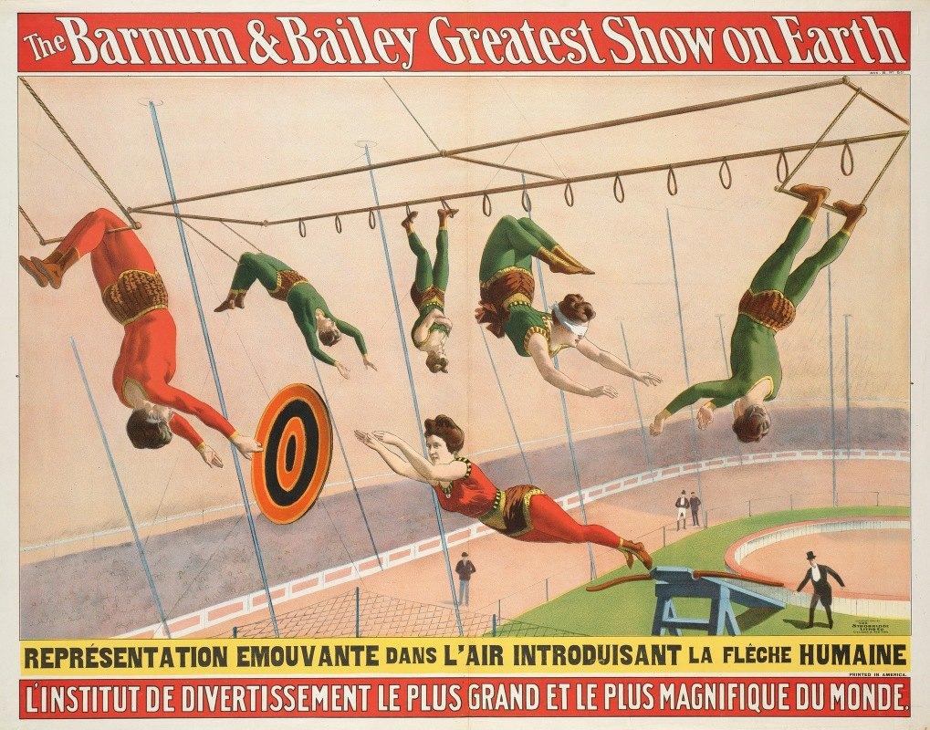 Anonymous - The Barnum & Bailey greatest show on earth : L'Institut de divertissement le plus grand et le plus magnifique du monde