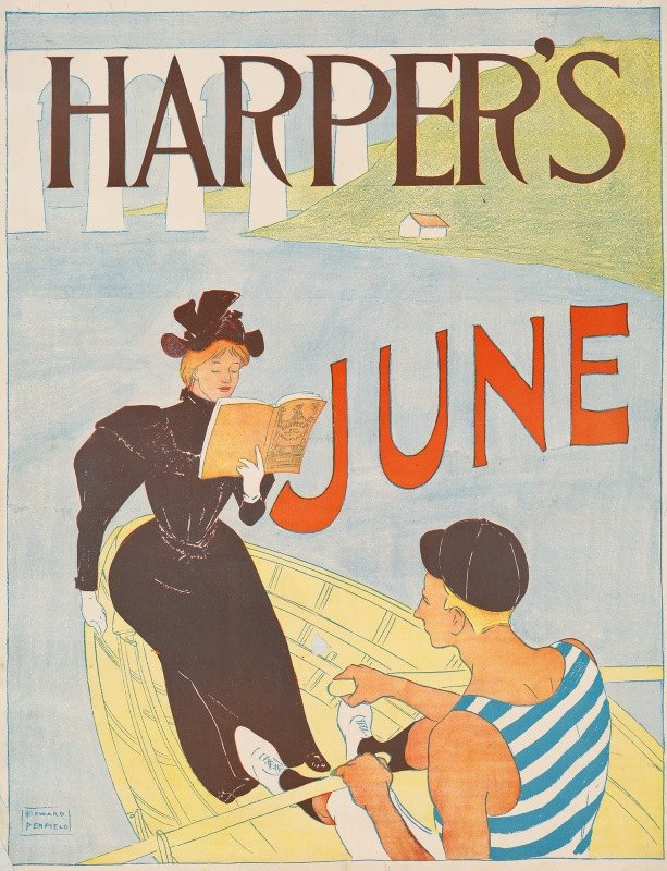 Edward Penfield - Harper's June