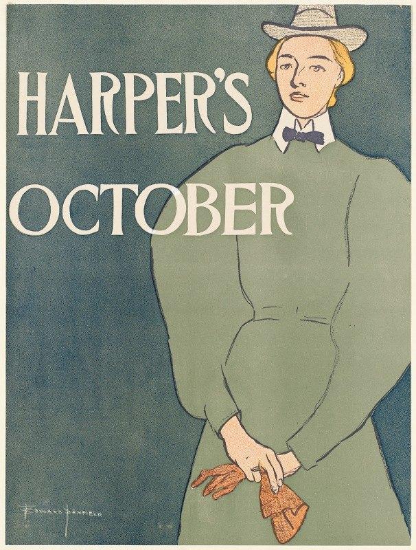 Edward Penfield - Harper's October