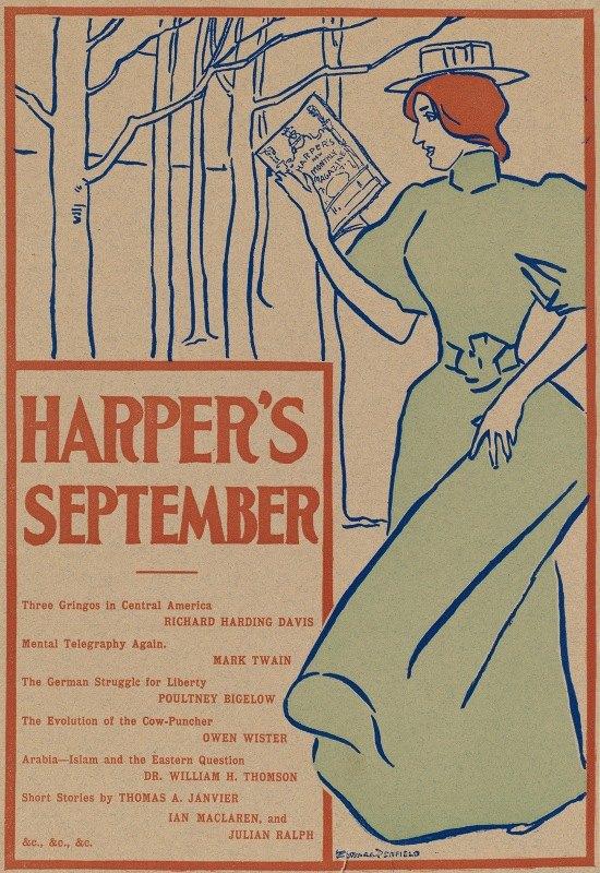 Edward Penfield - Harper's September