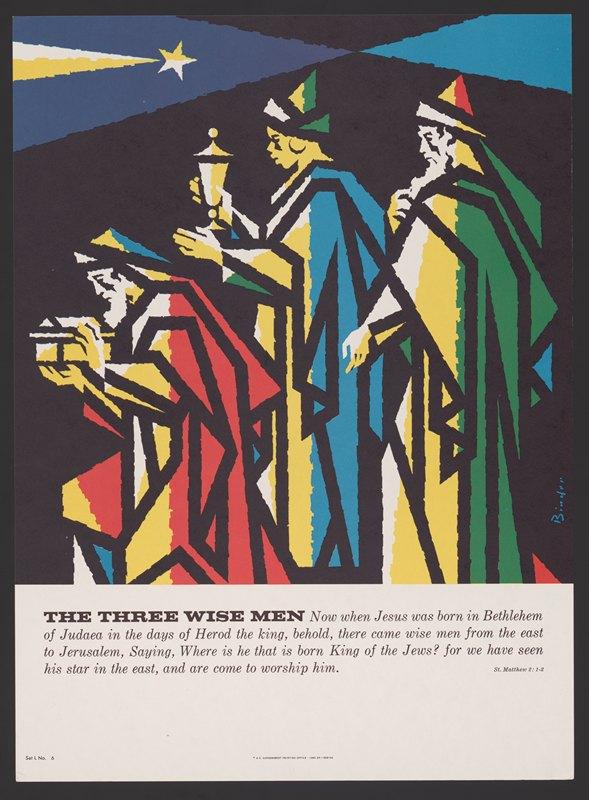 Joseph Binder - The three wise men