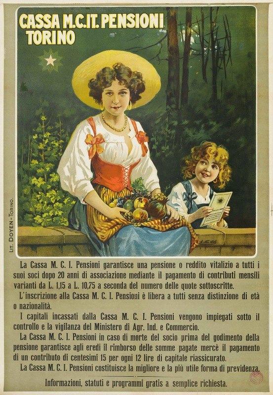 Leonida Edel - Cassa M.C. It. Pensioni, Torino