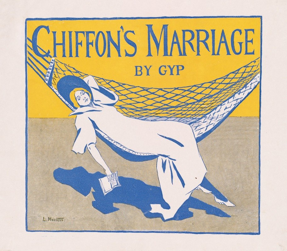 Louise Lyons Heustis - Chiffon's marriage by GYP