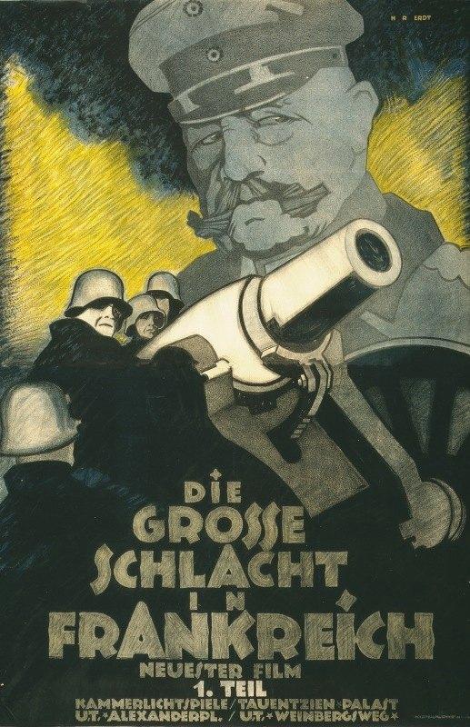 Hans Rudi Erdt - Die grosse Schlacht in Frankreich