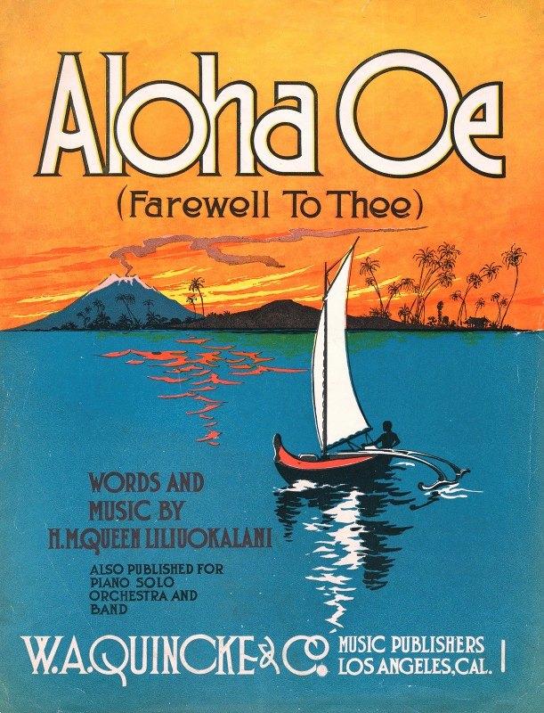 Anonymous - Aloha oe