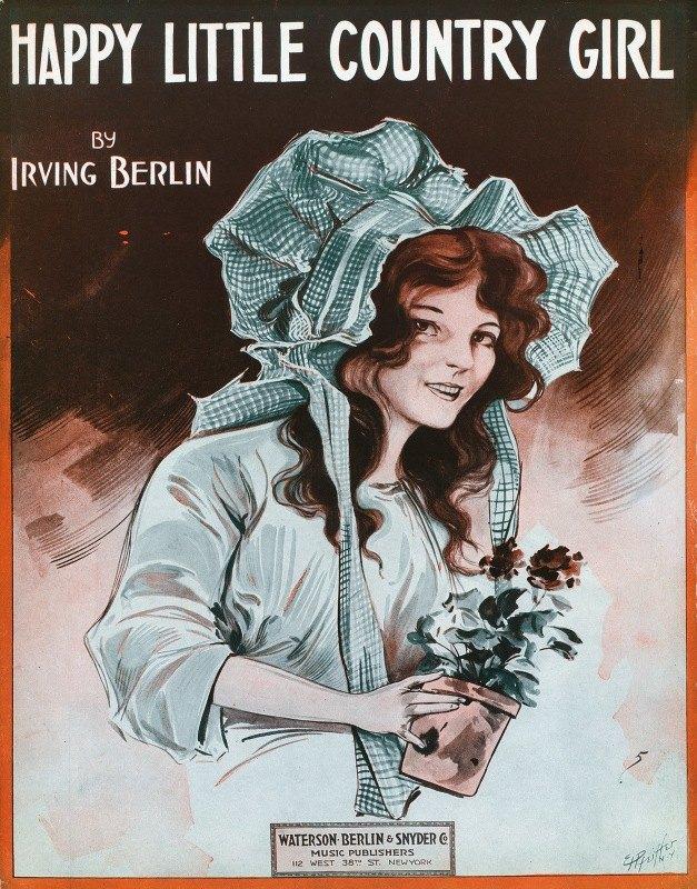 E. H. Pfeiffer - Happy little country girl