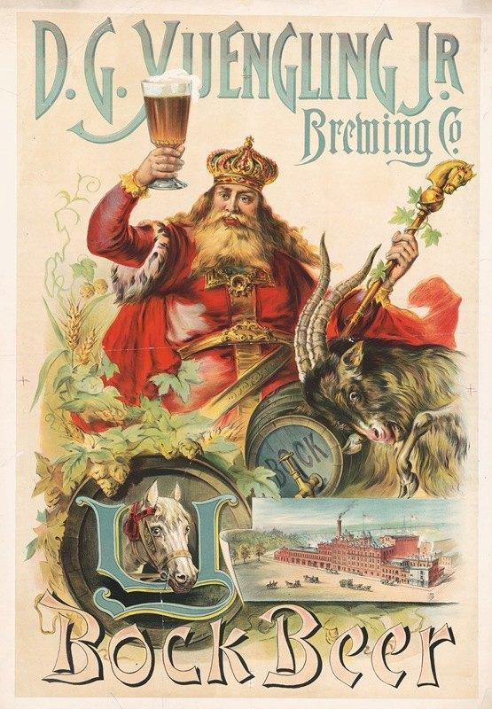 Louis Deutz - D.G. Yuengling Jr. Brewing Co., bock beer