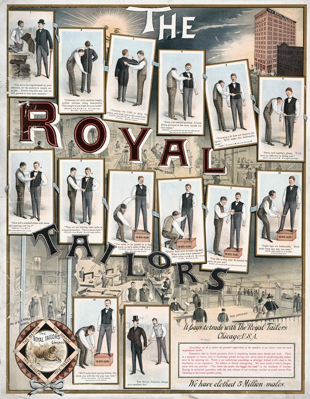 Anonymous - The Royal Tailors, it pays to trade with the The Royal Tailors