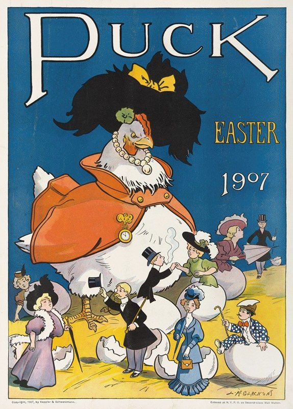 Louis Glackens - Puck Easter