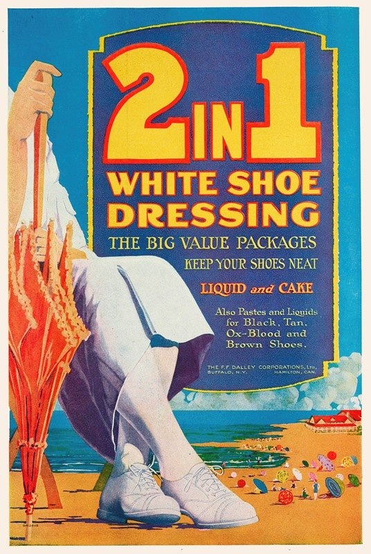 Anonymous - 2in1 White Shoe Dressing