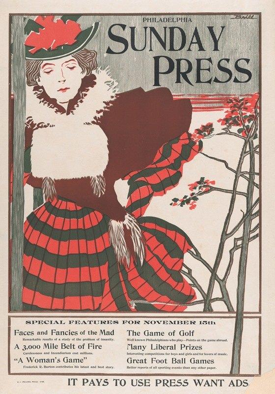 George Reiter Brill - Philadelphia Sunday Press; November 15