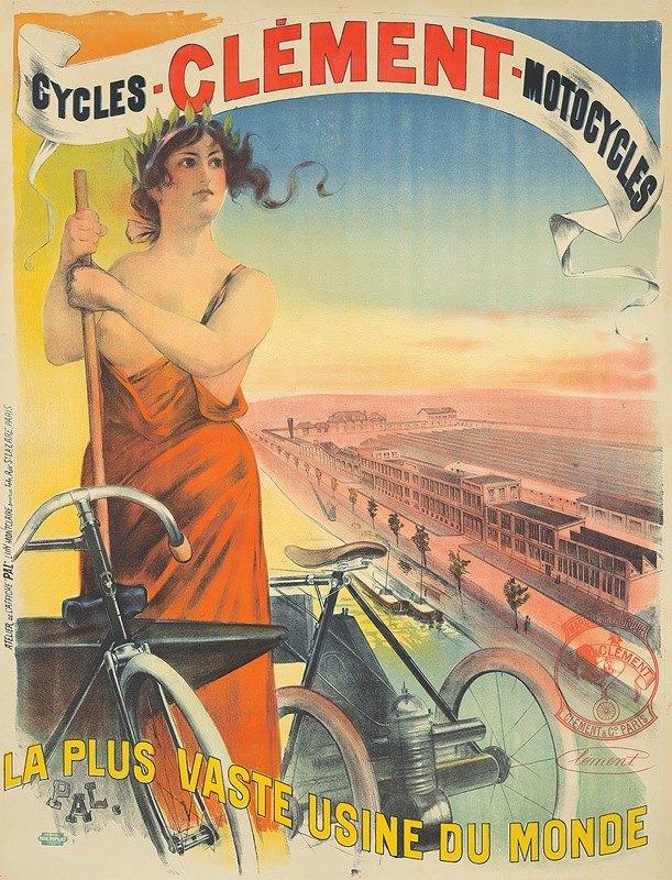 Jean de Paleologue - Clément-Cycles-Motocycles.