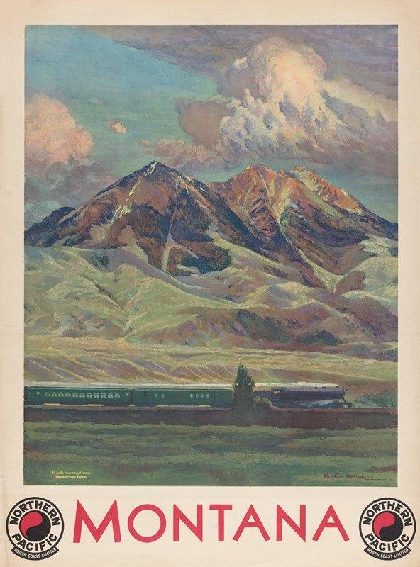 Gustav Wilhelm Krollmann - Montana Northern Pacific North Coast Limited