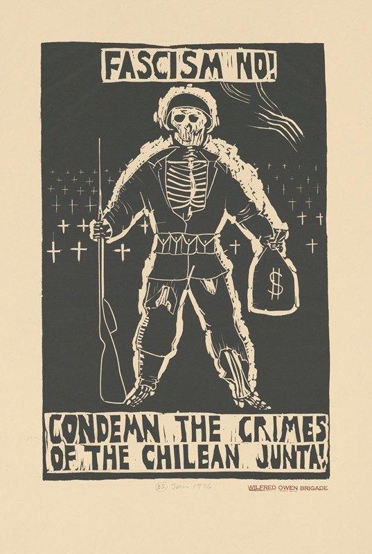 Rachael Romero - Fascism no! Condemn the crimes of the Chilean junta!