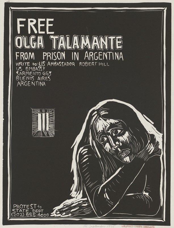 Rachael Romero - Free Olga Talamante from prison in Argentina