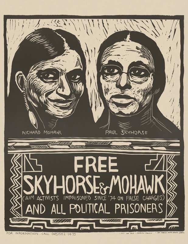Rachael Romero - Free Skyhorse and Mohawk and all political prisoners