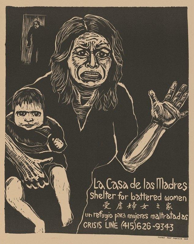 Rachael Romero - La casa de las madres – shelter for battered women