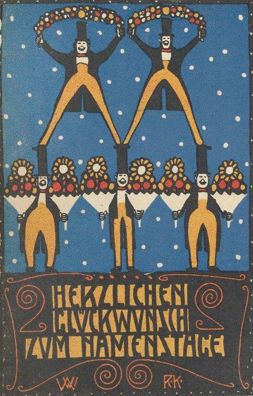 Rudolf Kalvach - Congratulations on Your Name Day (Herzlichen Glückwunsch zum Namenstage)