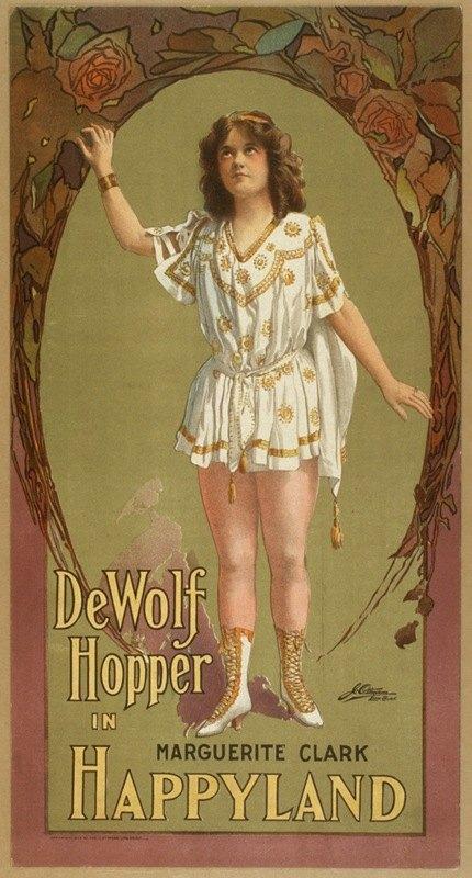 J. Ottman Lith Co. - De Wolf Hopper in Happyland