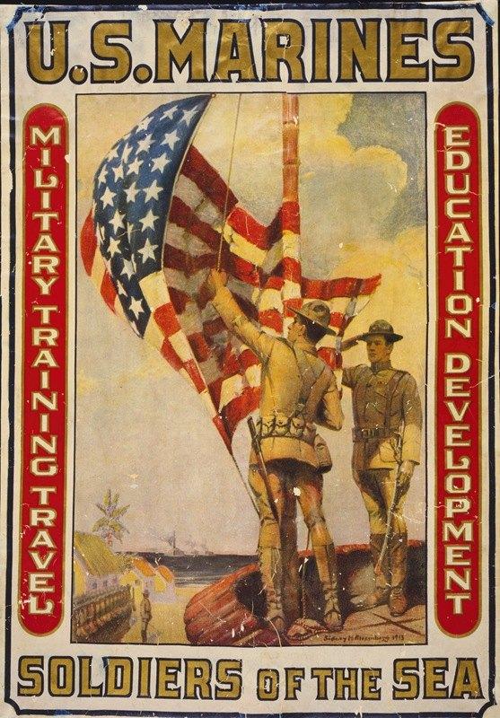 Sidney Riesenberg - U.S. Marines – Soldiers of the sea Military training, travel, education, development